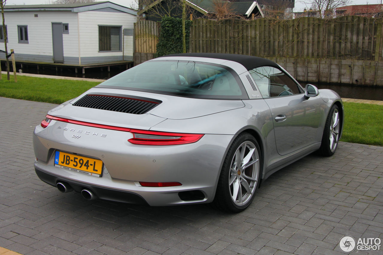 porsche 991 targa 4s mkii 13 february 2016 autogespot. Black Bedroom Furniture Sets. Home Design Ideas