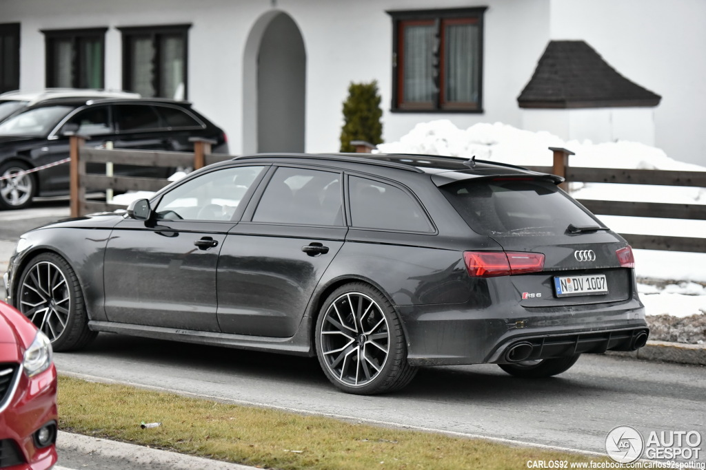 audi rs6 avant c7 2015 14 february 2016 autogespot. Black Bedroom Furniture Sets. Home Design Ideas