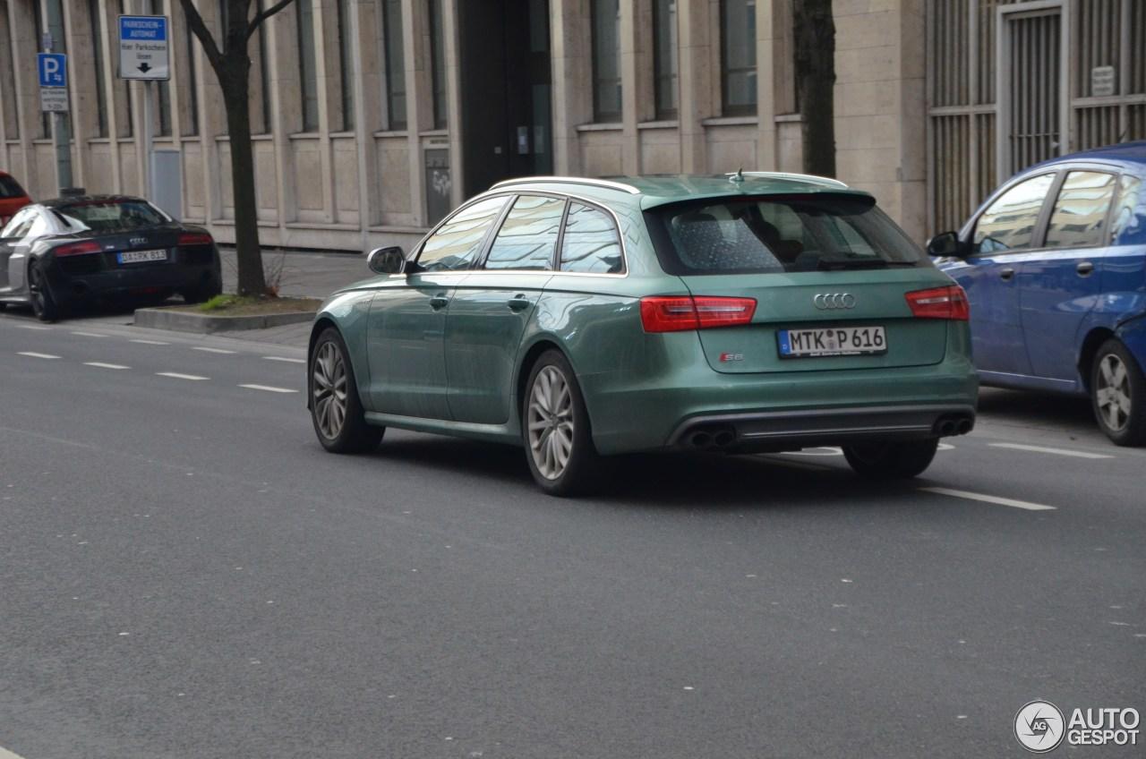 Audi S6 Avant C7 8