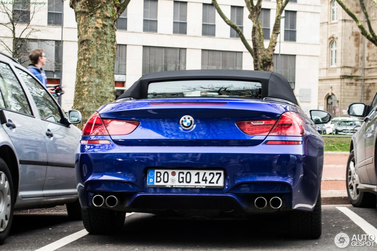 BMW M6 F12 Cabriolet 4