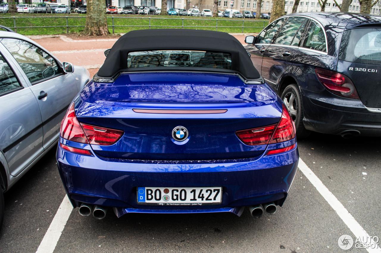 BMW M6 F12 Cabriolet 7