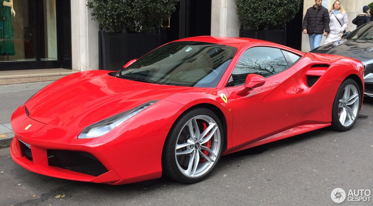 ferrari 488 gtb 14 february 2016 autogespot. Black Bedroom Furniture Sets. Home Design Ideas