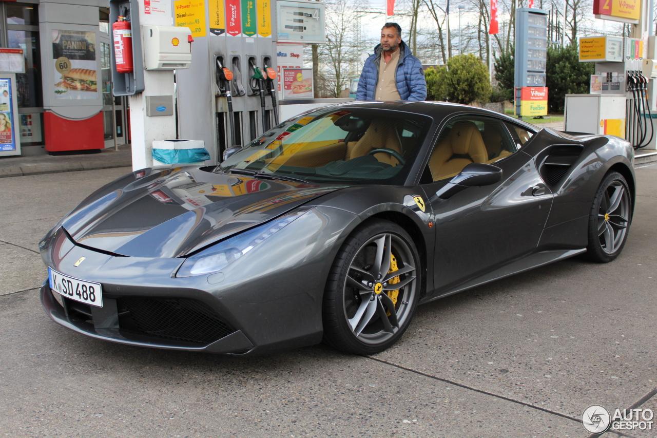 Ferrari 488 Gtb 14 Februar 2016 Autogespot