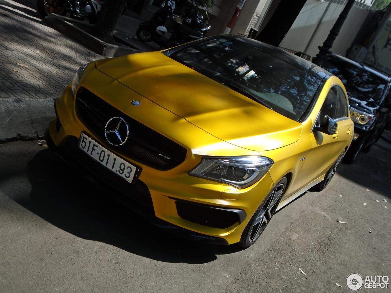 Mercedes benz cla 45 amg c117 14 february 2016 autogespot for Mercedes benz cla 45 price