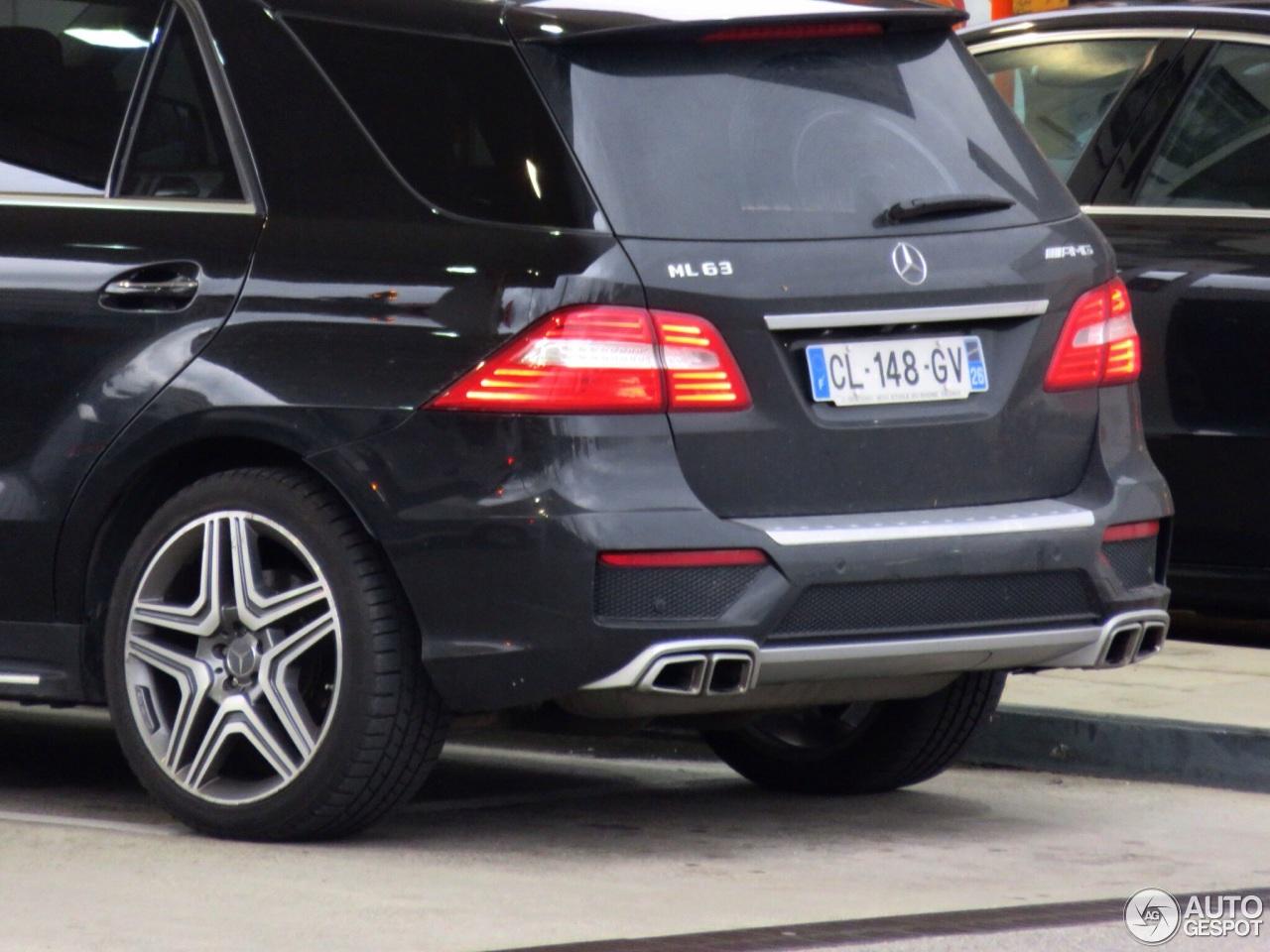 Mercedes-Benz ML 63 AMG W166 3