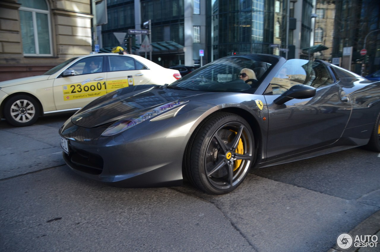 Ferrari 458 Spider 2