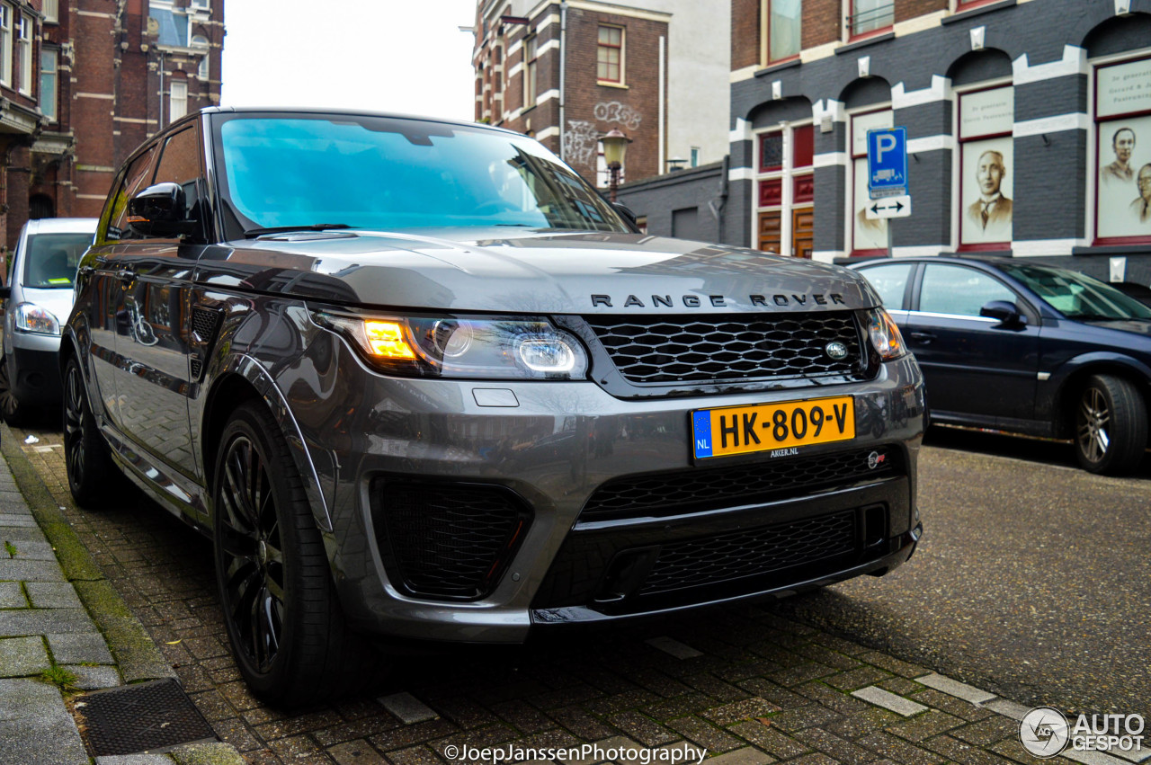 land rover range rover sport svr 15 februari 2016 autogespot. Black Bedroom Furniture Sets. Home Design Ideas