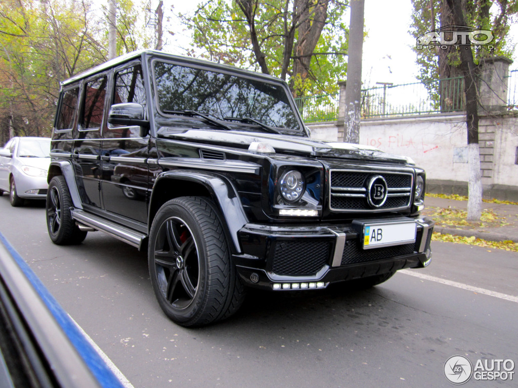 Mercedes Benz Brabus G 63 Amg B63 620 15 February 2016