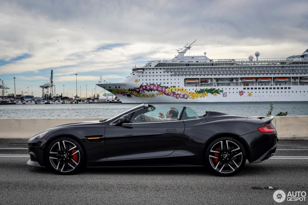 Aston Martin Vanquish Volante 16 February 2016 Autogespot