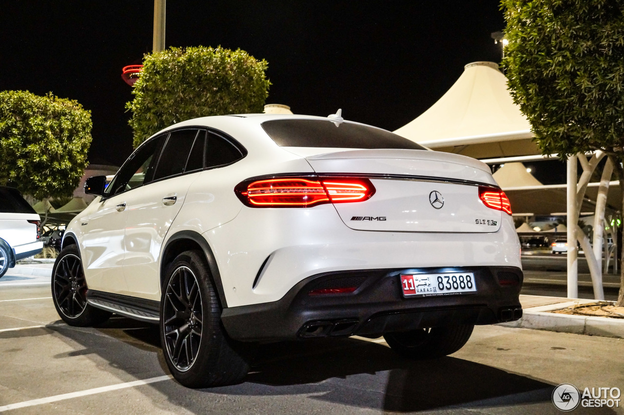 mercedes amg gle 63 s coup 16 february 2016 autogespot. Black Bedroom Furniture Sets. Home Design Ideas