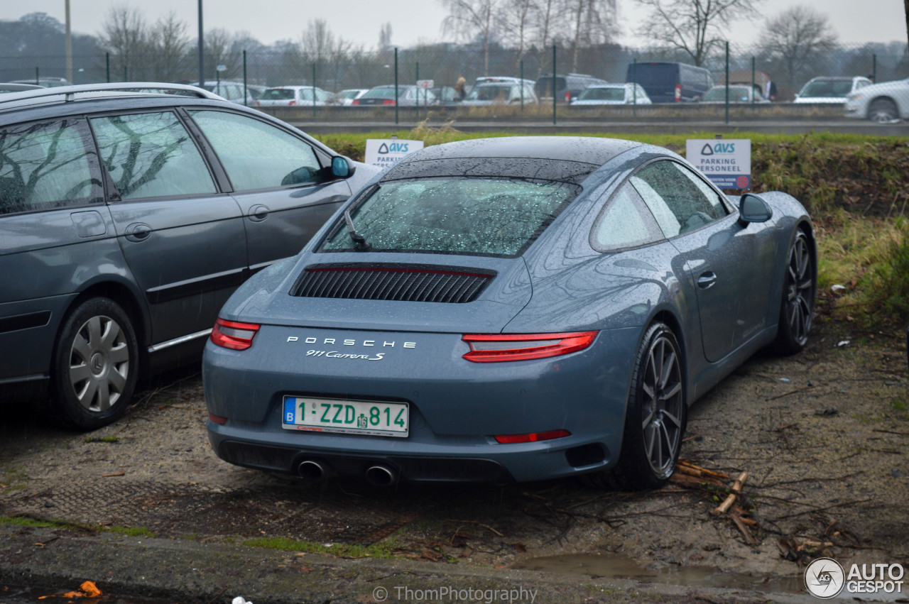 porsche 991 carrera s mkii 16 february 2016 autogespot. Black Bedroom Furniture Sets. Home Design Ideas