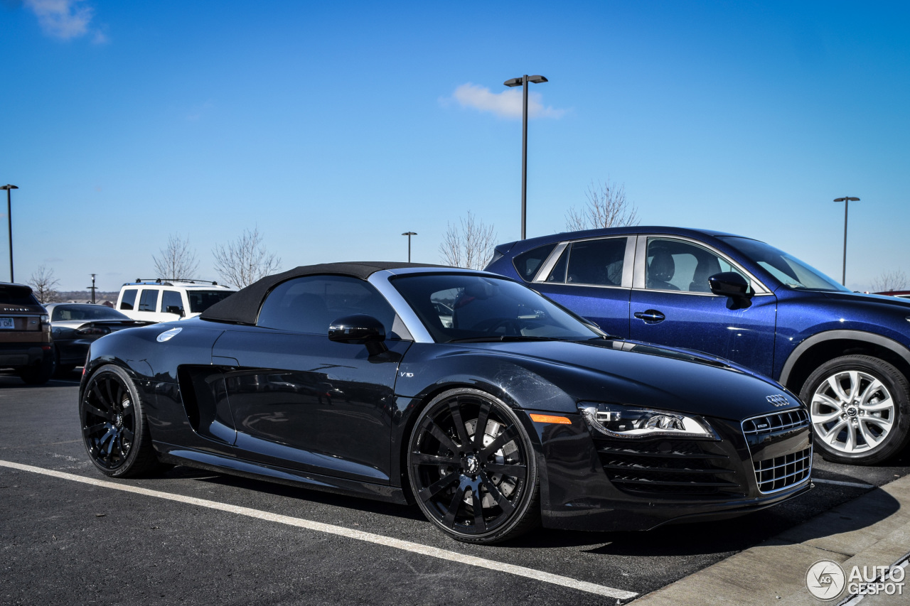 audi r8 v10 spyder 17 february 2016 autogespot. Black Bedroom Furniture Sets. Home Design Ideas