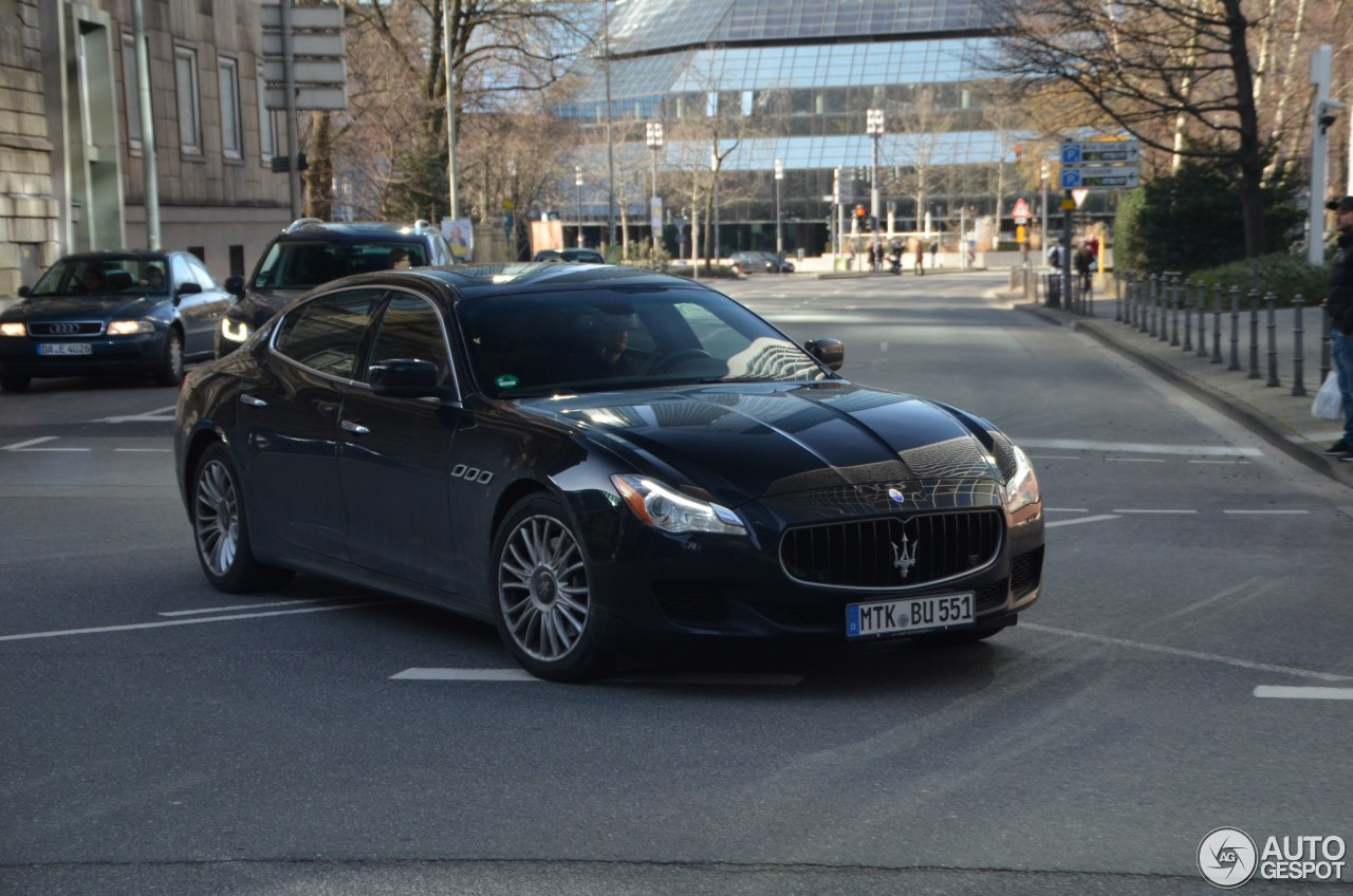 Maserati Quattroporte S Q4 2013 2