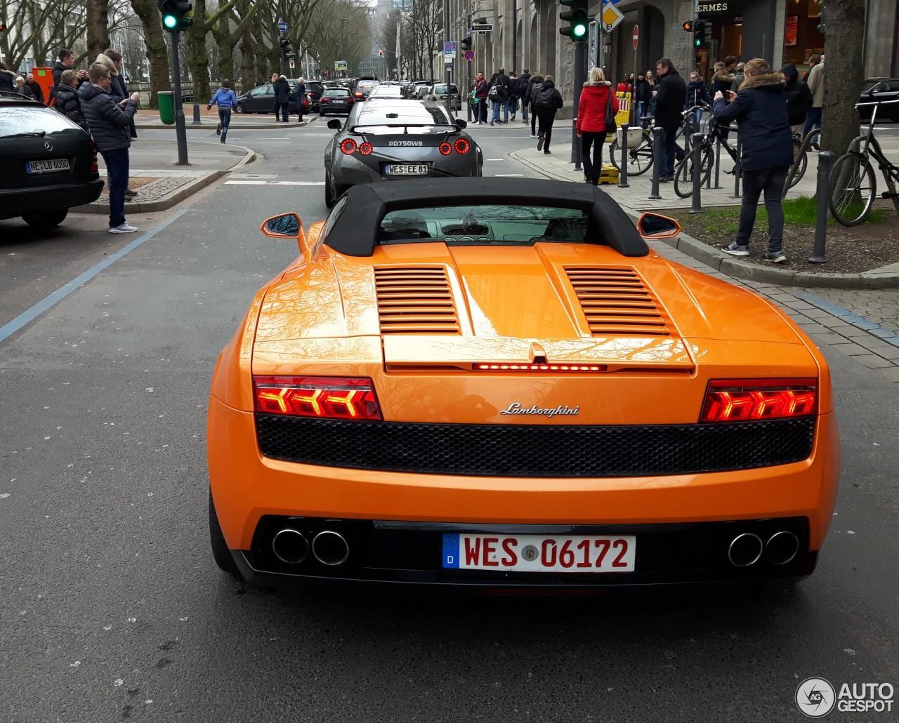 Lamborghini Gallardo LP560-4 Spyder 1