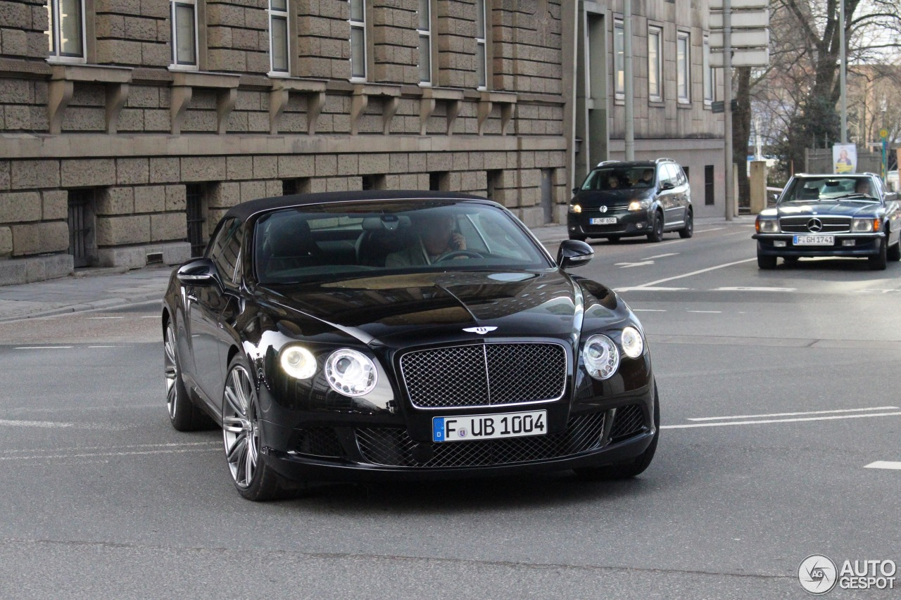 Bentley Continental GTC Speed 2013 1