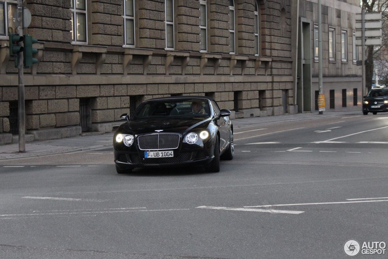 Bentley Continental GTC Speed 2013 2