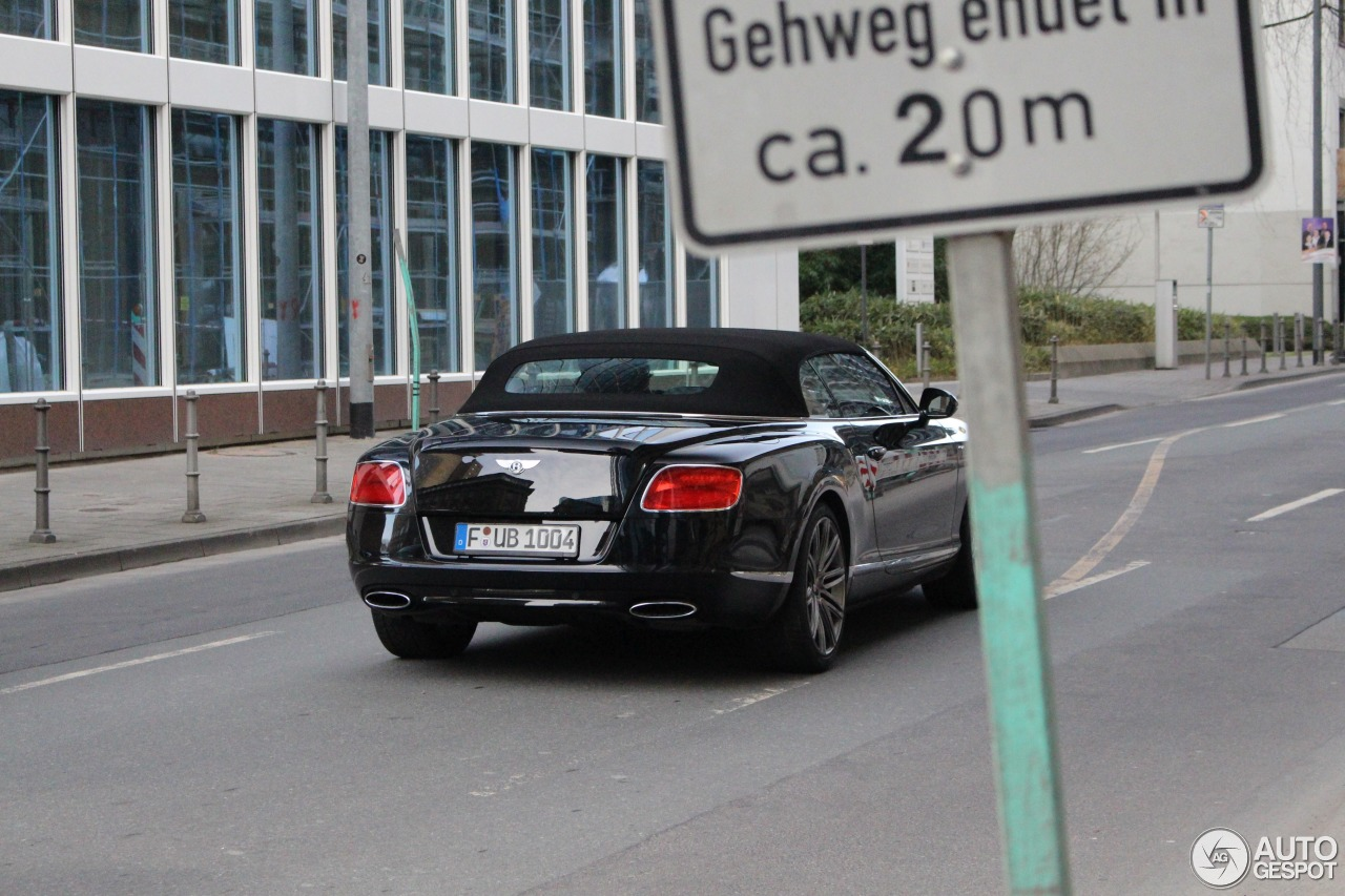 Bentley Continental GTC Speed 2013 4