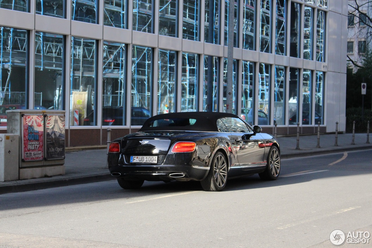 Bentley Continental GTC Speed 2013 6