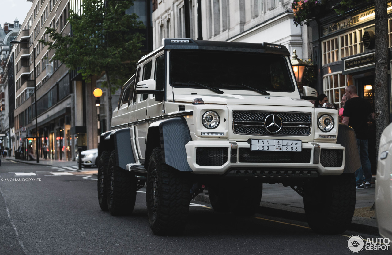 Mercedes benz g 63 amg 6x6 19 february 2016 autogespot for Mercedes benz amg 6x6 price