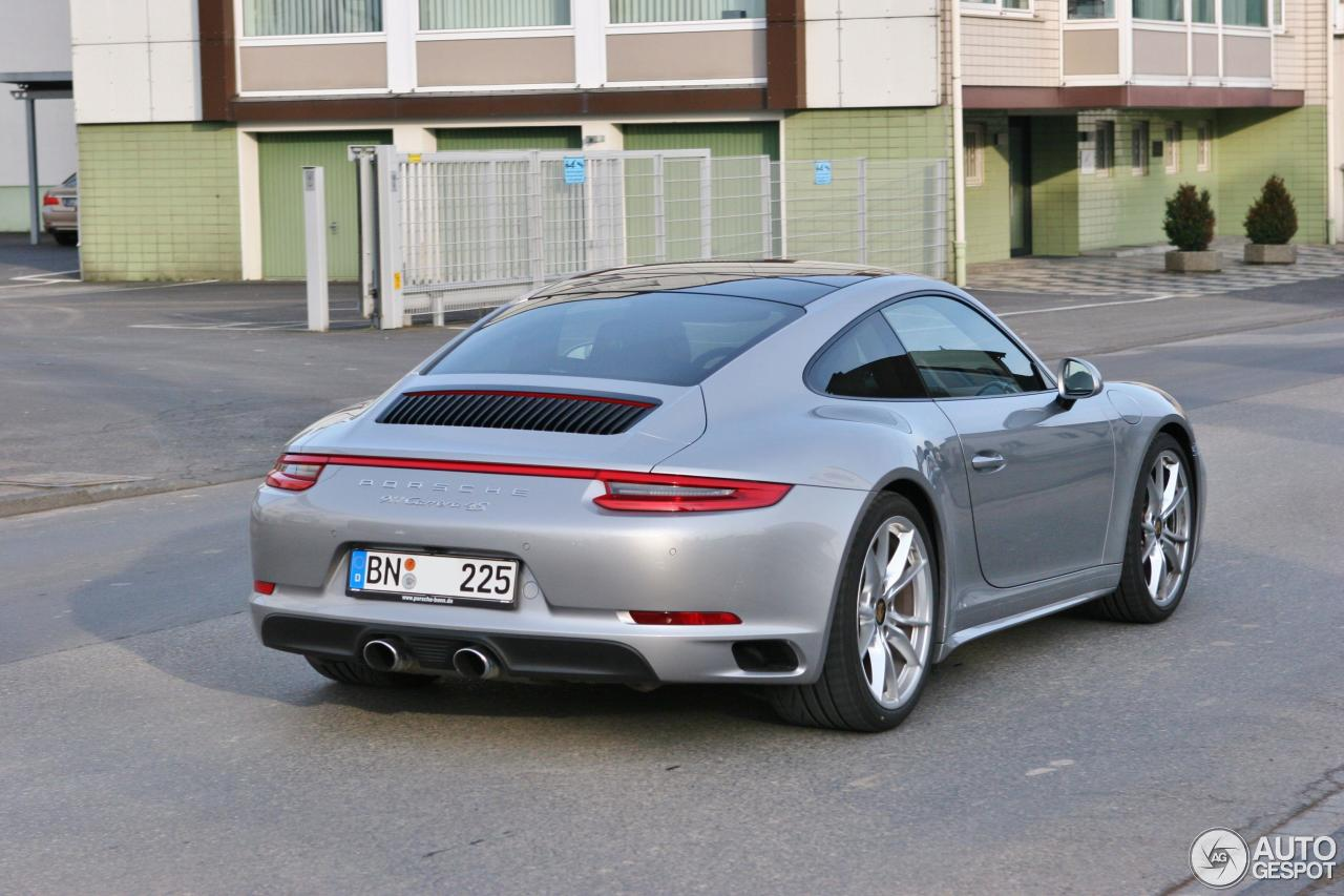 porsche 991 carrera 4s mkii 19 february 2016 autogespot. Black Bedroom Furniture Sets. Home Design Ideas
