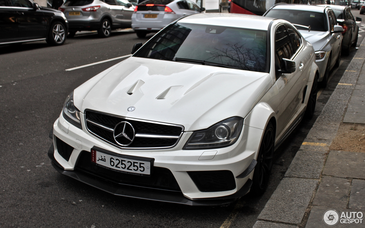 mercedes benz c 63 amg coup black series 20 february. Black Bedroom Furniture Sets. Home Design Ideas