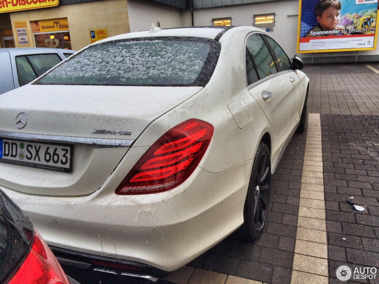 Mercedes-Benz S 63 AMG W222 5