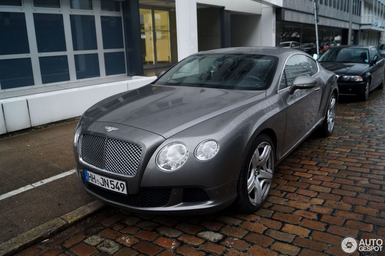 Bentley Continental GT 2012 10