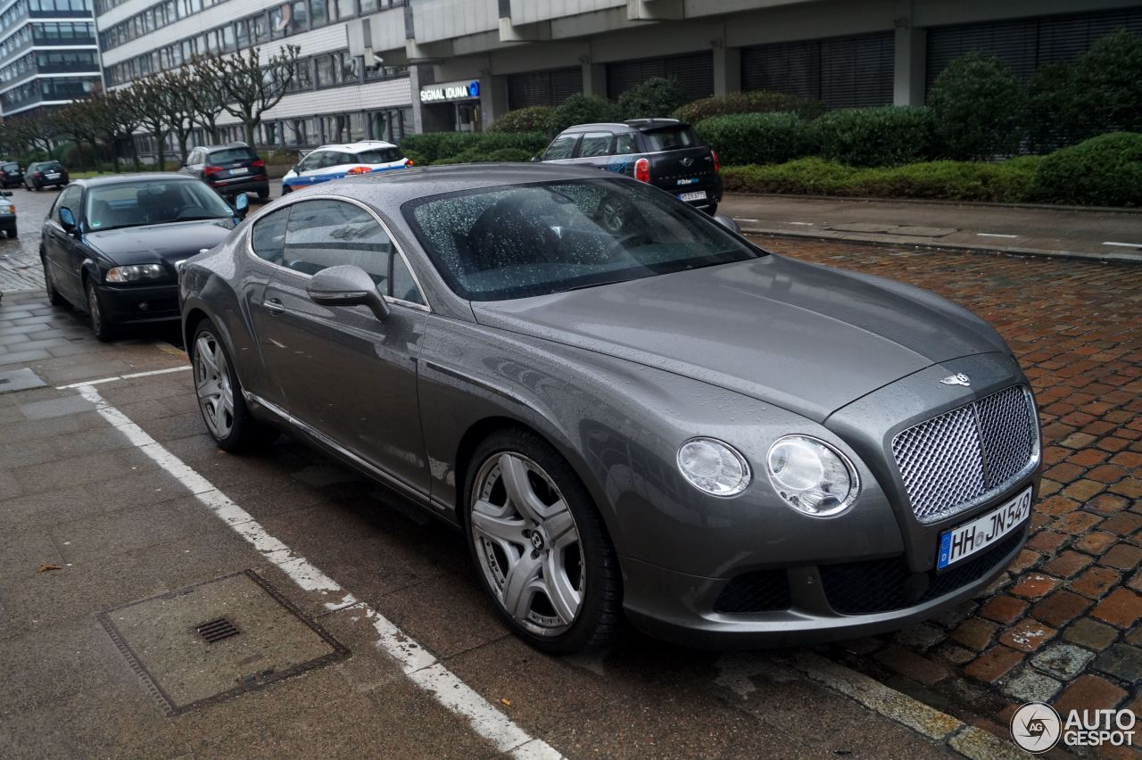 Bentley Continental GT 2012 8