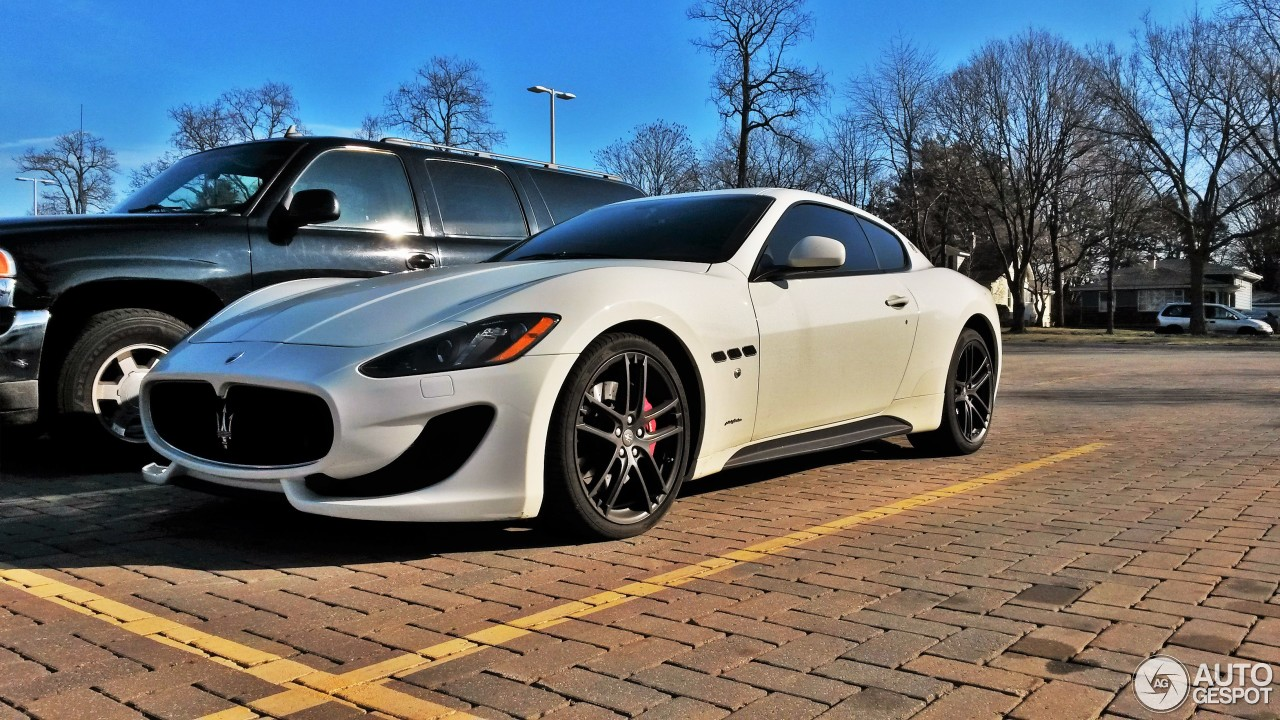 maserati granturismo sport 21 fvrier 2016 autogespot. Black Bedroom Furniture Sets. Home Design Ideas