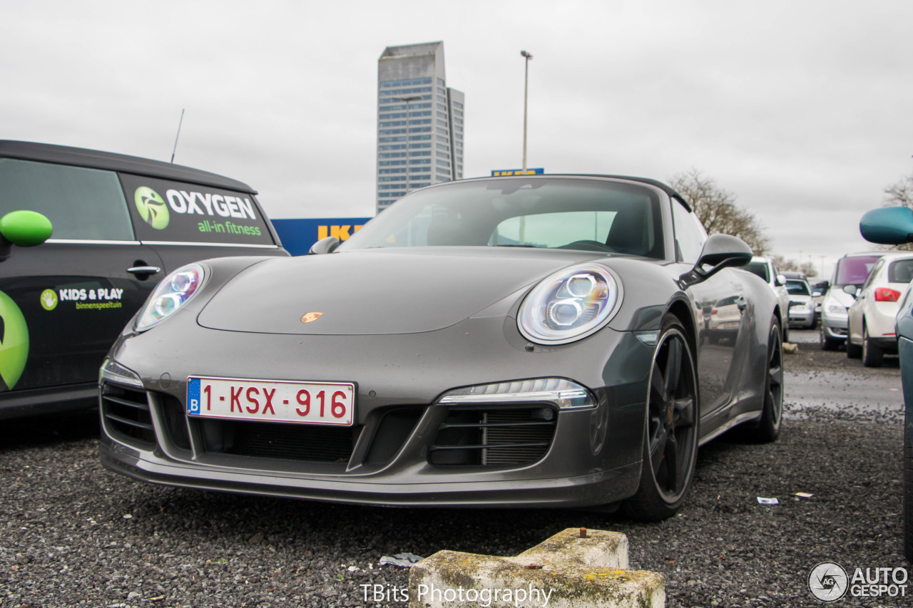 Porsche 991 Targa 4s Exclusive Belgium Edition 21 February 2016 Autogespot