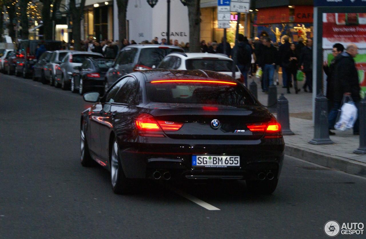 BMW M6 F06 Gran Coupé 2015 4