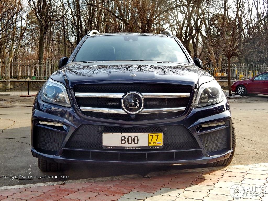 Mercedes Benz Brabus Gl B63s 700 Widestar 22 February