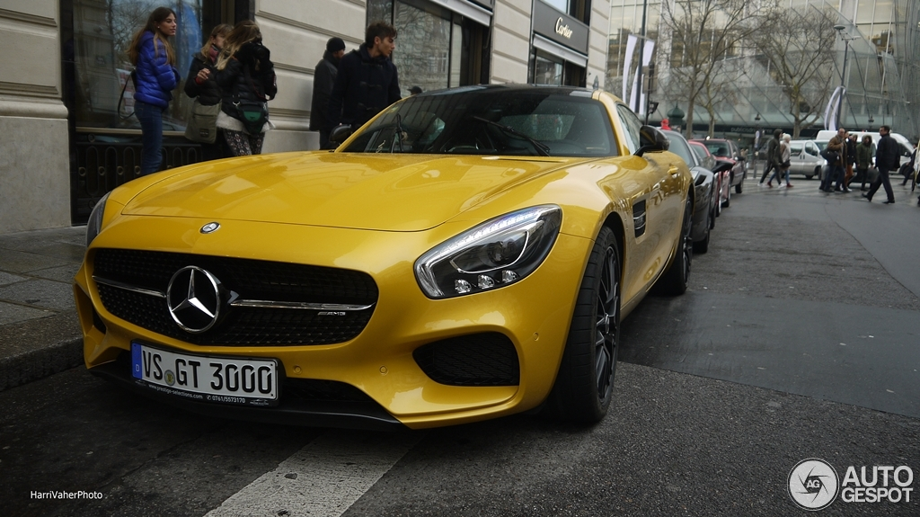 Mercedes-AMG GT S 5