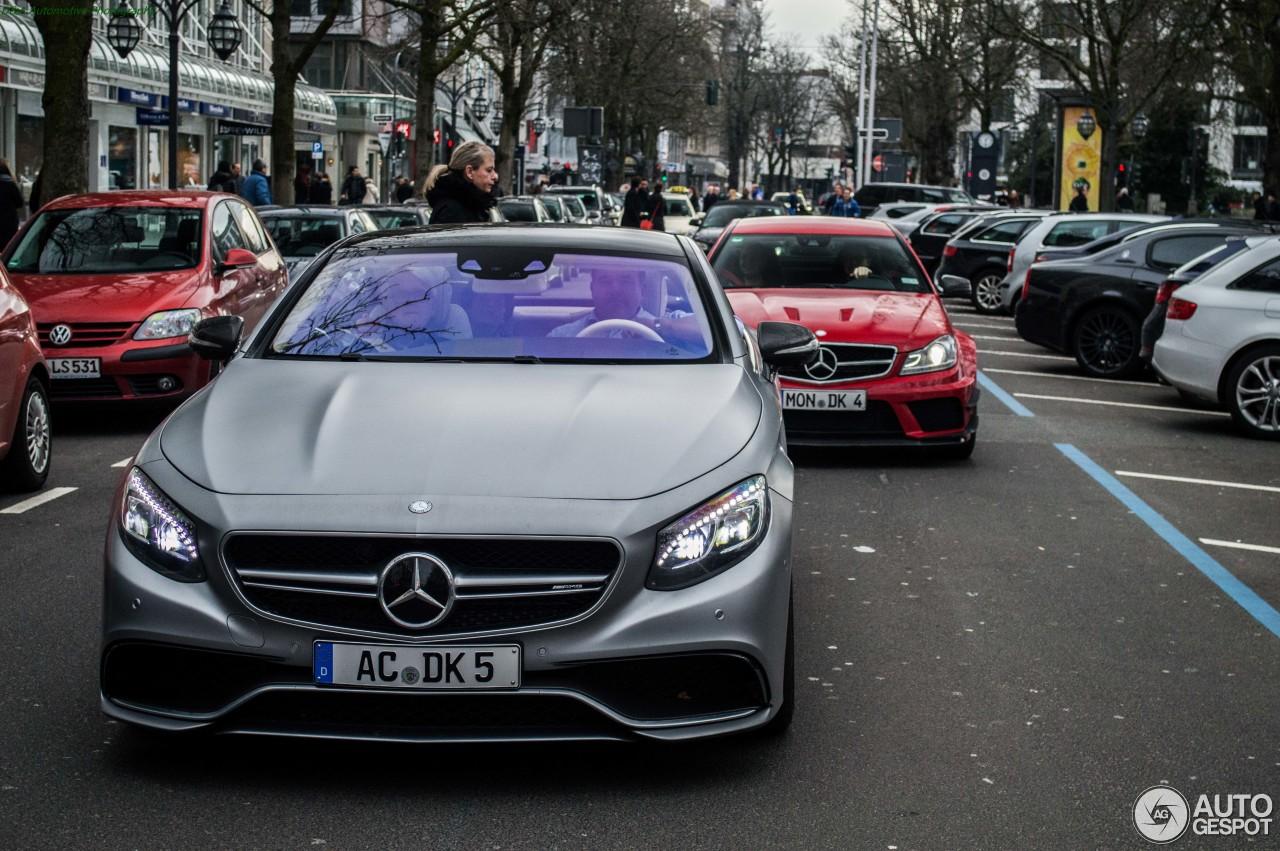 Mercedes-Benz S 63 AMG Coupé C217 3