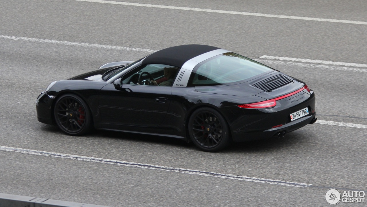 porsche 991 targa 4 gts 23 february 2016 autogespot. Black Bedroom Furniture Sets. Home Design Ideas