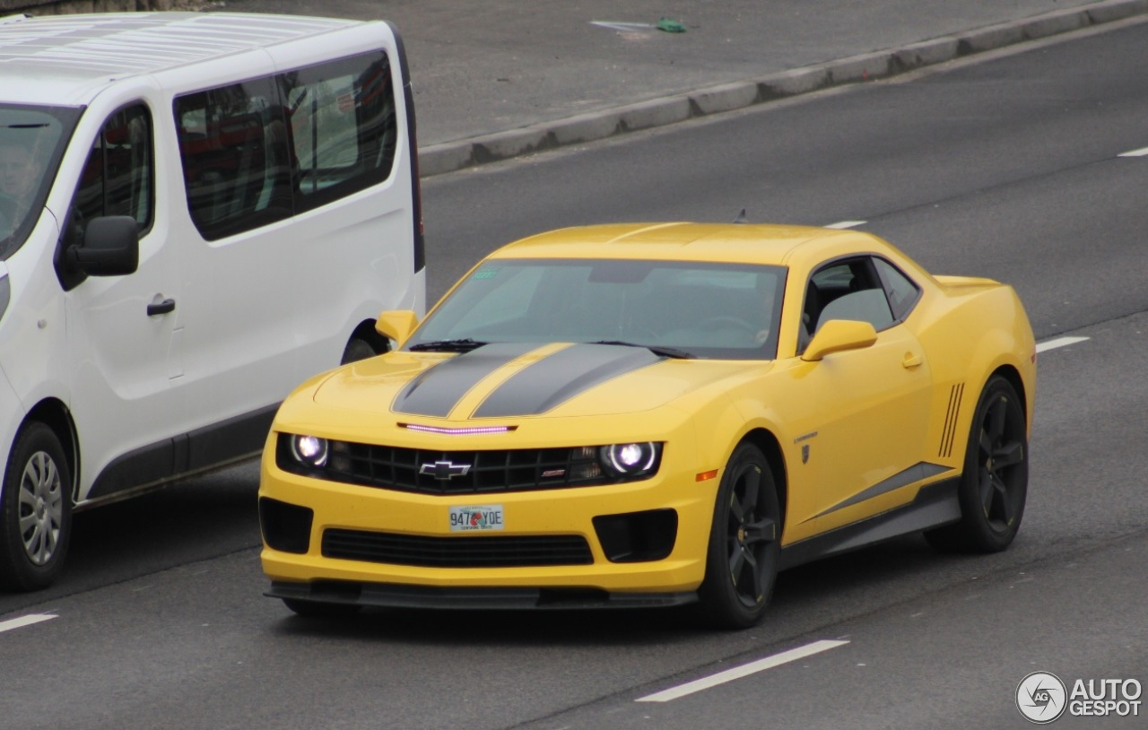 Chevrolet Camaro SS Transformers Edition - 24 February ...