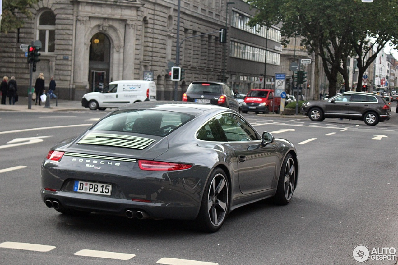 Porsche 991 50th Anniversary Edition 4