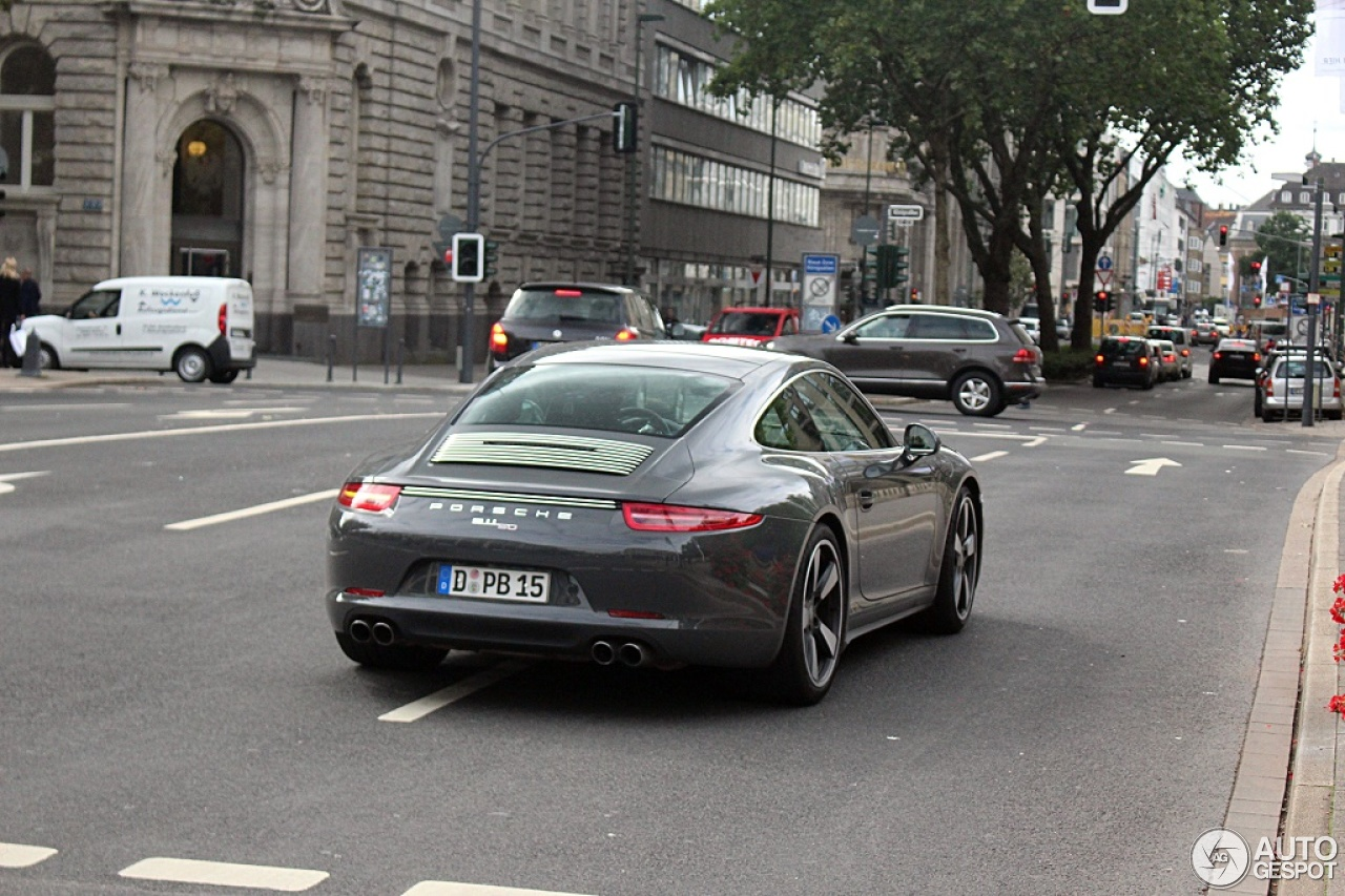 Porsche 991 50th Anniversary Edition 5