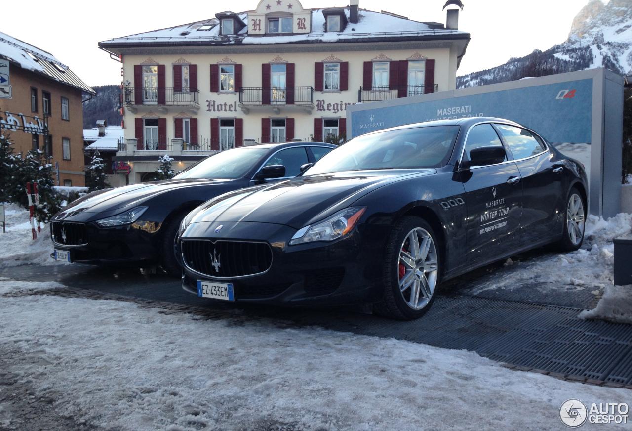 Maserati Quattroporte S Q4 2013 1