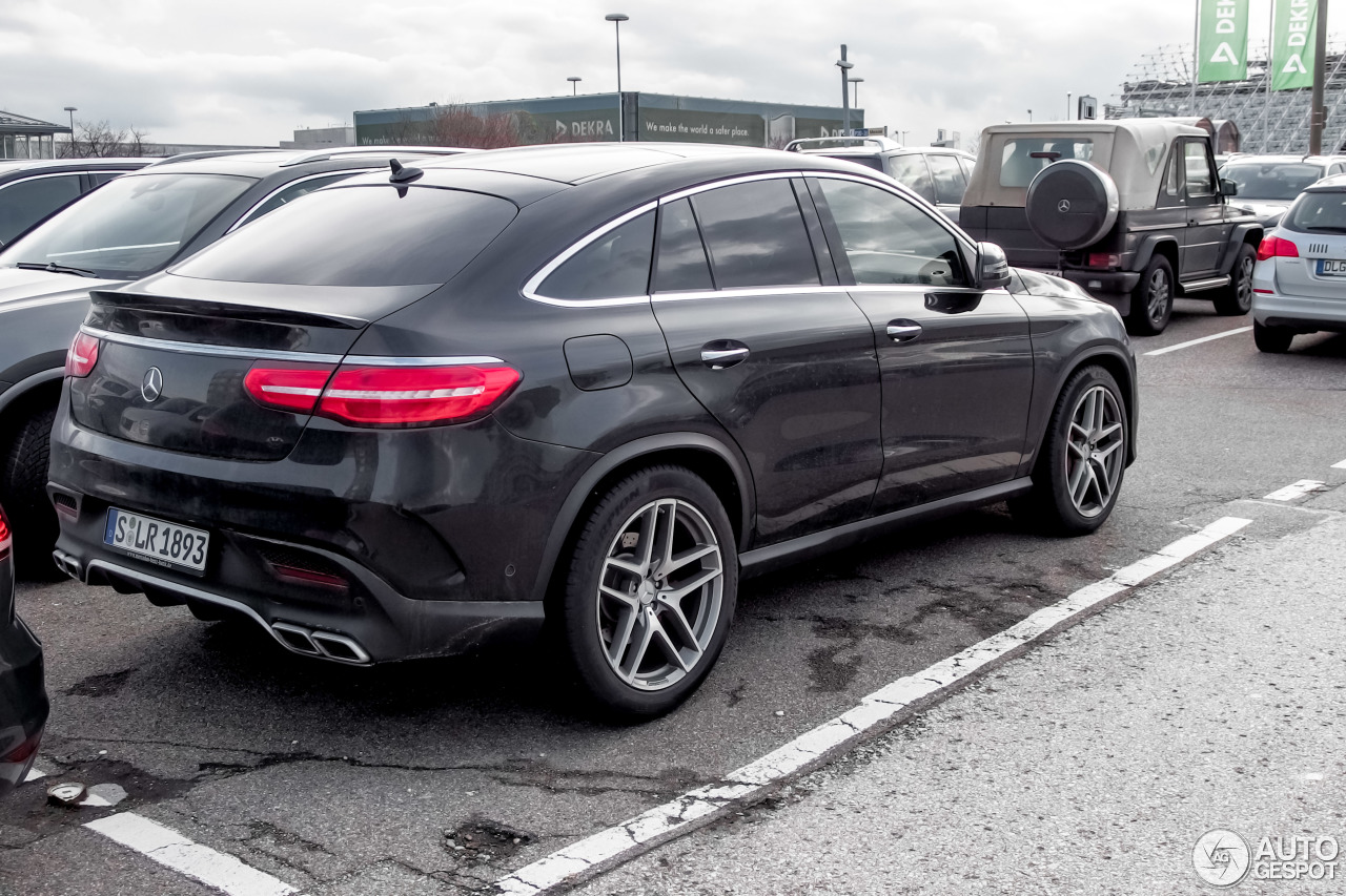mercedes amg gle 63 s coup 25 february 2016 autogespot. Black Bedroom Furniture Sets. Home Design Ideas