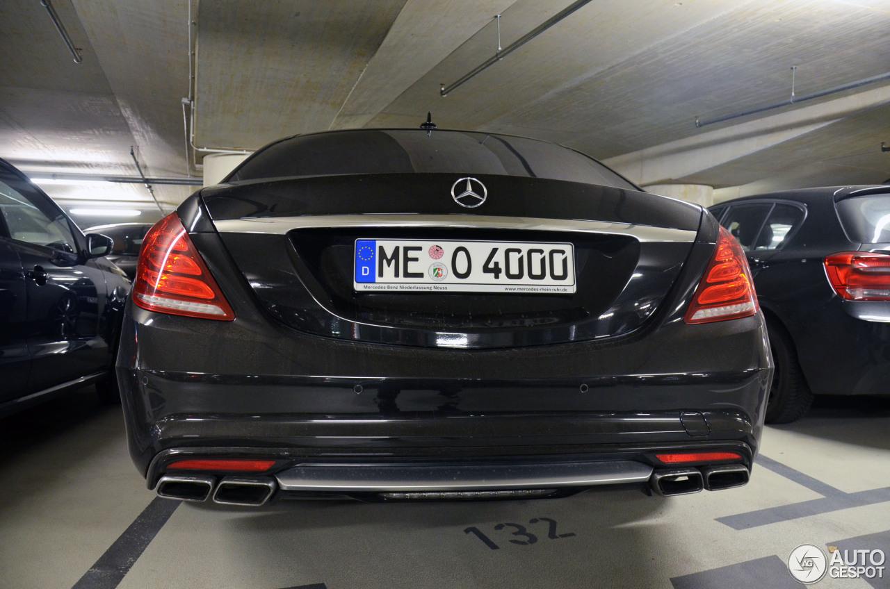Mercedes-Benz S 63 AMG W222 6
