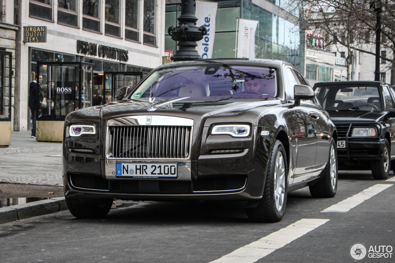 Rolls-Royce Ghost Series II 4