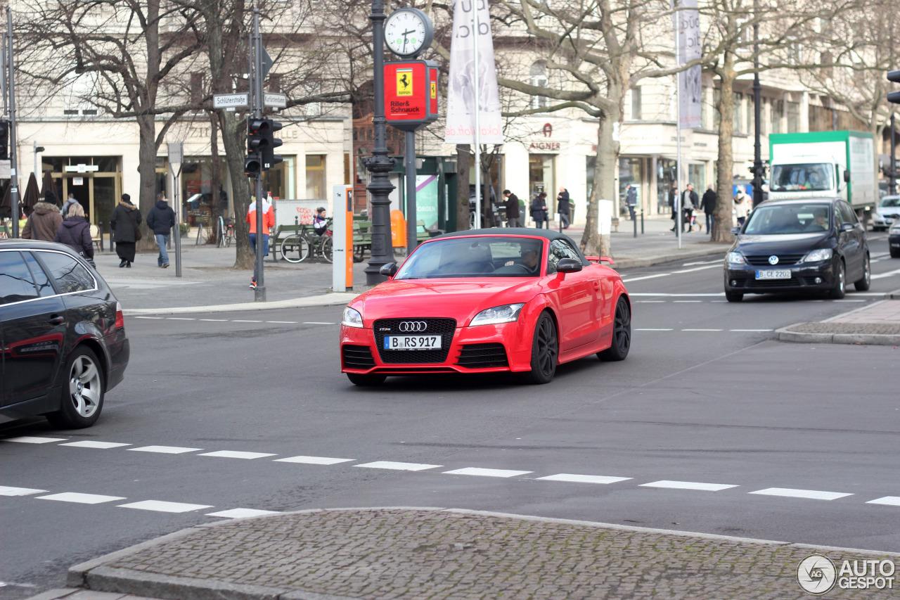 Audi TT-RS Roadster 4