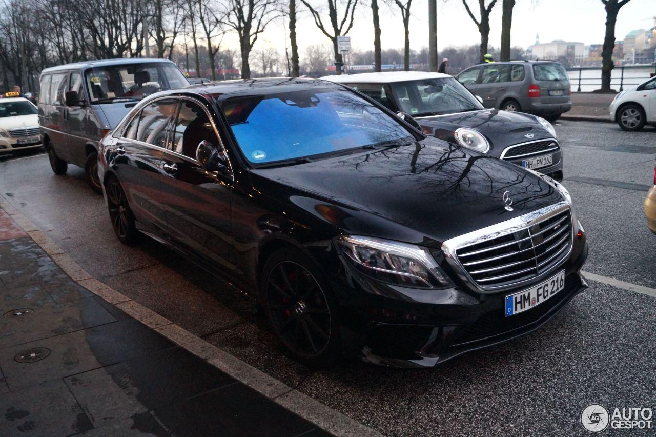 Mercedes-Benz S 63 AMG W222 1