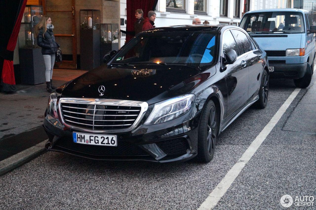 Mercedes-Benz S 63 AMG W222 8