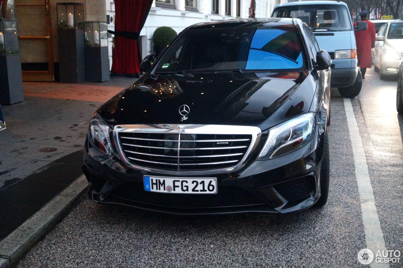Mercedes-Benz S 63 AMG W222 9