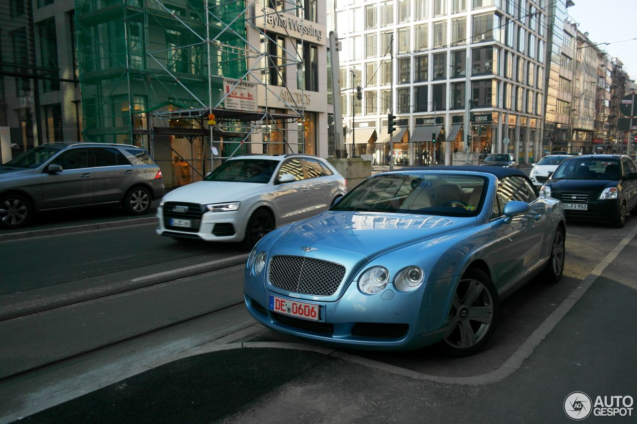 Bentley Continental GTC 8