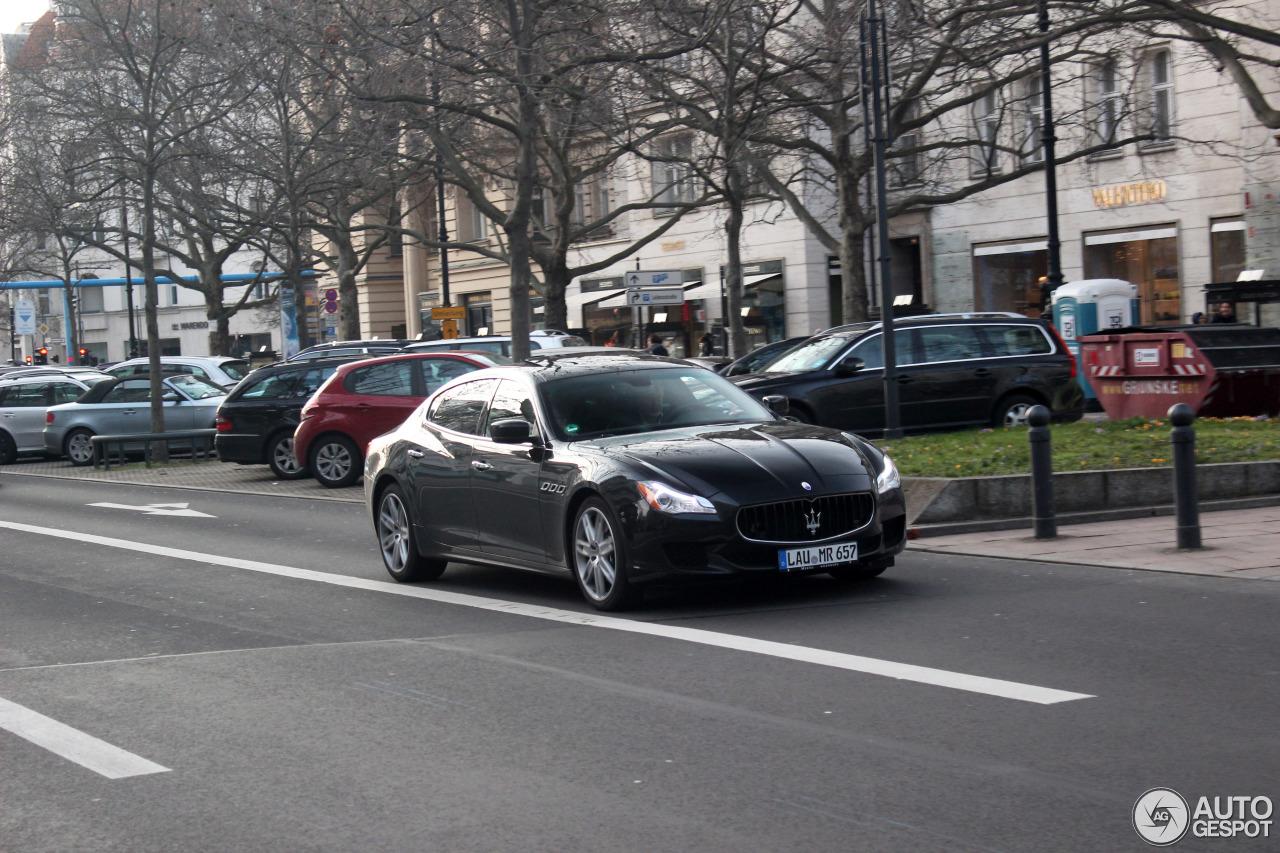 Maserati Quattroporte S 2013 6