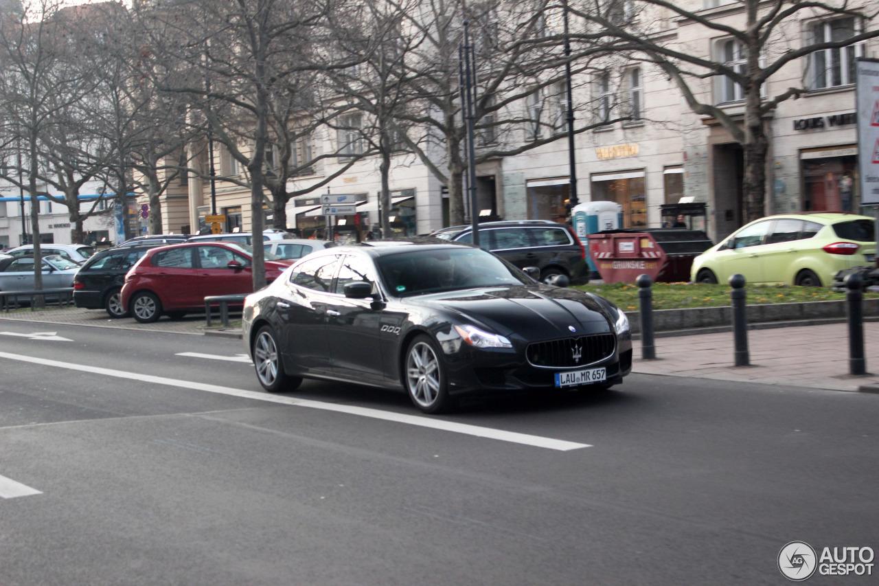 Maserati Quattroporte S 2013 7