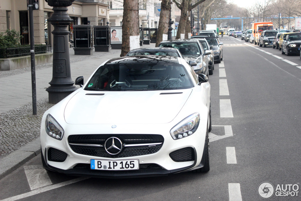 Mercedes-AMG GT S Edition 1 2